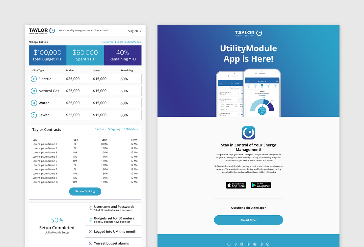 UtilityModule Email Marketing