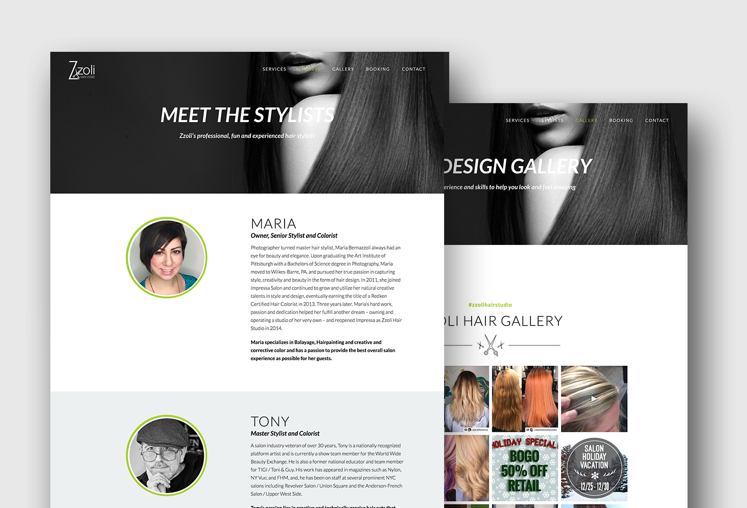 Website Design Image Galleries